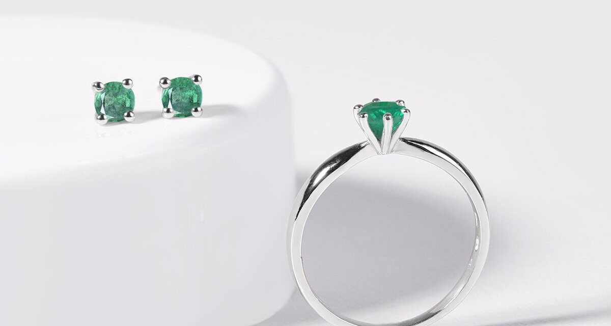 An Emerald Can Support a Woman's Intuition and Inner Beauty