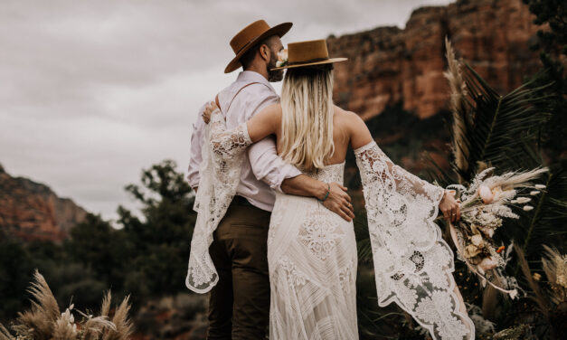 Wedding in a Boho Style