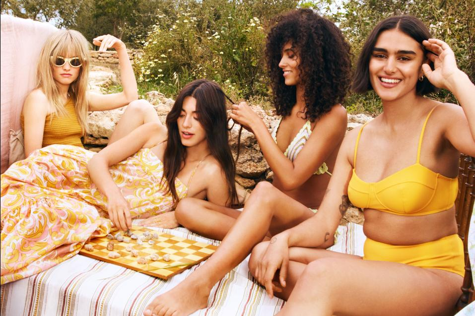 Mango's new collection called The sun is everywhere
