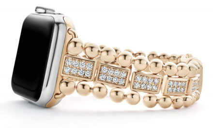 New rose gold accessories for Apple Watch by LAGOS