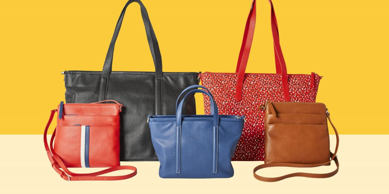New handbag collection by REAL SIMPLE full of practicality
