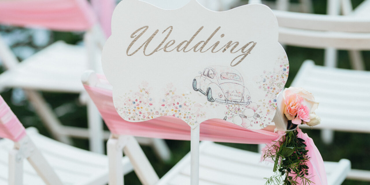 The wedding planning list: what you should not forget?