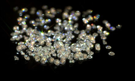 40 different qualities of diamonds by Grunberger Diamonds