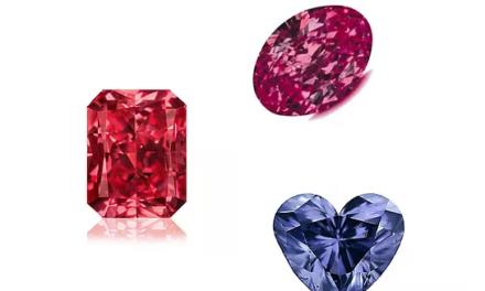 The announcement of the Argyle Diamond Trifecta
